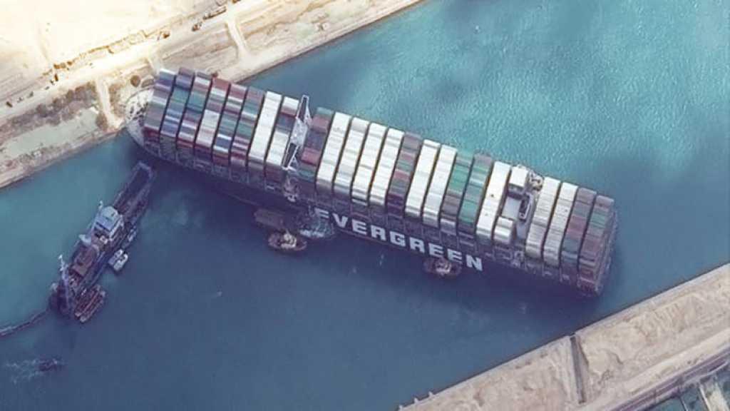 Canal de Suez: le propriétaire du navire évoque un déblocage dès samedi soir