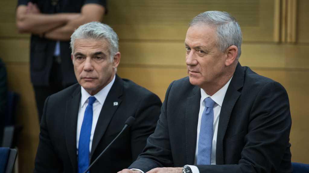 «Israël»: Rencontre entre Benny Gantz et Yaïr Lapid pour discuter de la formation d'une coalition