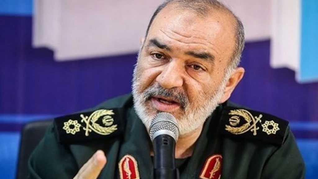 Le général Salami: la nation iranienne éliminera la pression des sanctions des ennemis de la Révolution