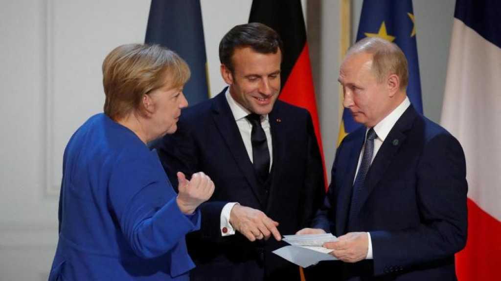 Poutine, Merkel et Macron conviennent de ramener l'Iran à l'accord nucléaire