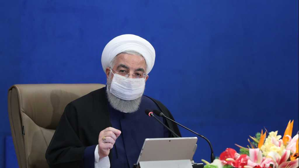 Le président iranien dénonce la lenteur des Etats-Unis à revenir à l'accord sur le nucléaire