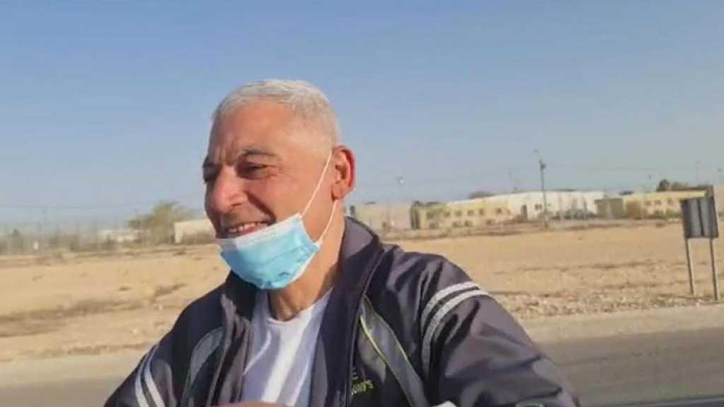 Libération de Rushdi Abu Mokh après 35 ans de prison