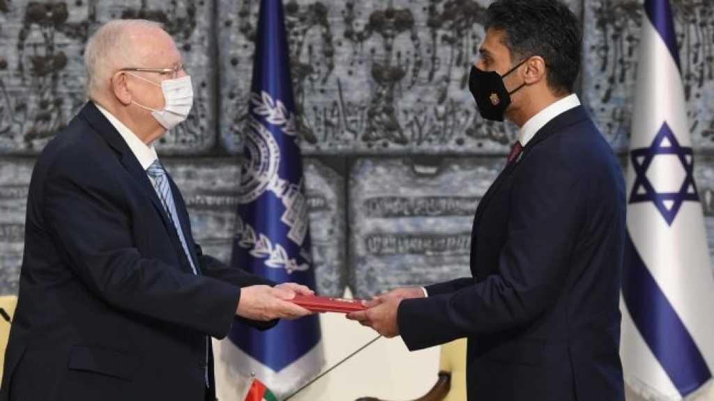 Le premier ambassadeur émirati en «Israël» prend ses fonctions