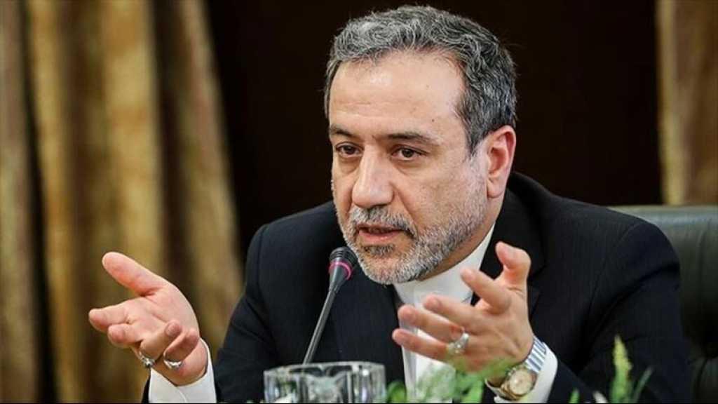 Araghchi : Nous n'arrêterons pas les activités nucléaires avant la levée de toutes les sanctions