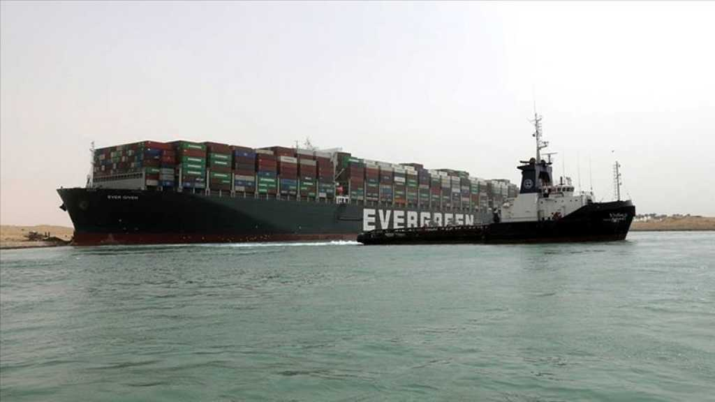 Canal de Suez: l'Égypte réclame 900 millions de dollars, l'Ever Given saisi