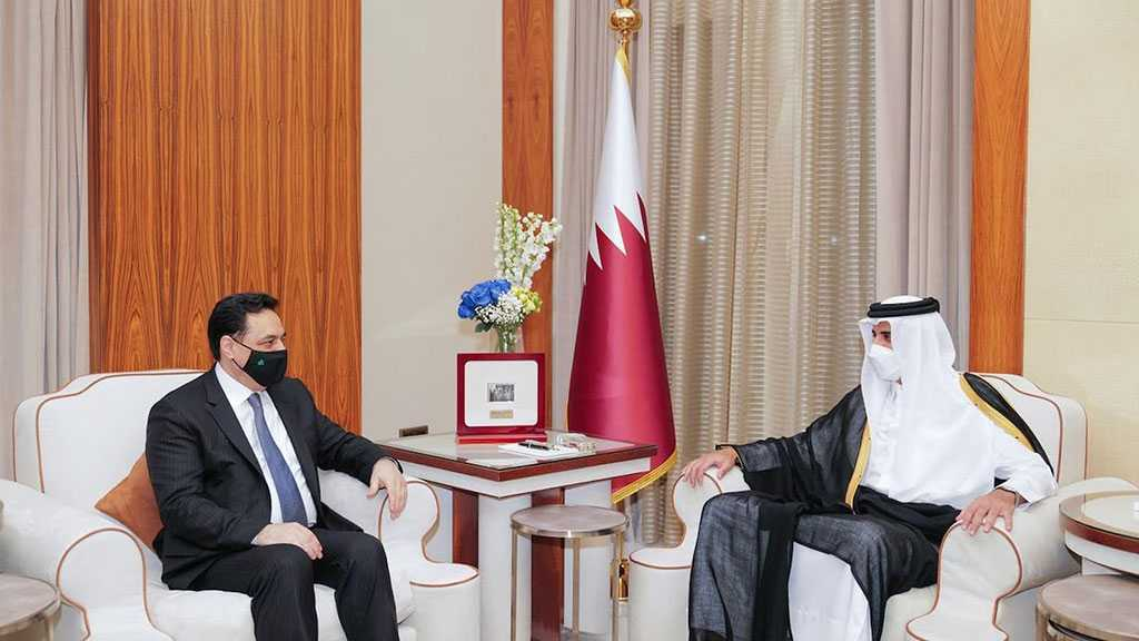En visite à Doha, le Premier ministre Diab appelle le Qatar à l'aide