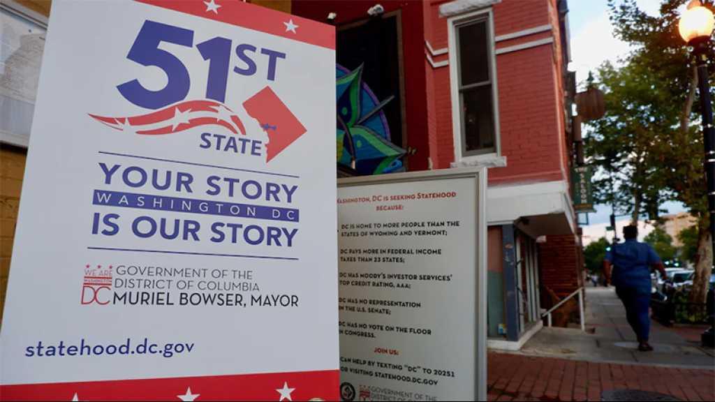Un texte faisant de Washington le 51e État américain de nouveau adopté à la Chambre