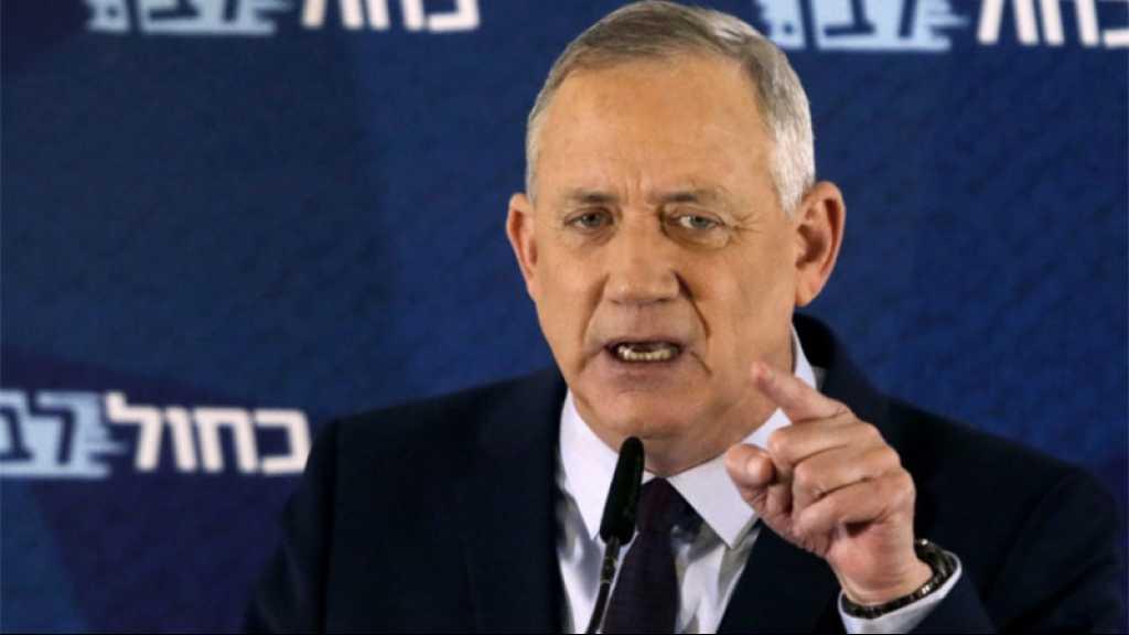 Gantz admet que la tentative d'abattre un missile syrien a échoué