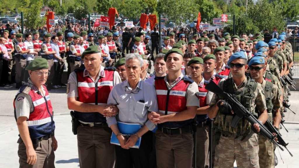 Coup d'Etat de 2016: la Turquie ordonne l'arrestation de 532 personnes pour des liens avec Gülen