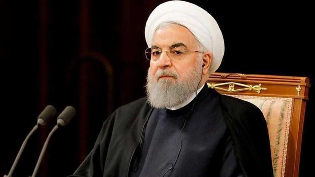 La guerre économique des Etats-Unis contre l'Iran a échoué, déclare le président iranien