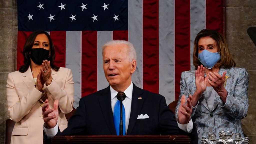 Etats-Unis: Biden vante une Amérique retrouvée, défend réformes et justice sociale
