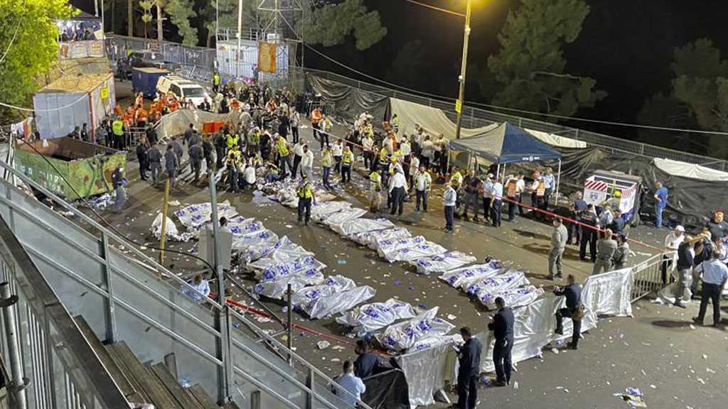 Bousculade géante lors d'une cérémonie religieuse en «Israël»: au moins 44 morts