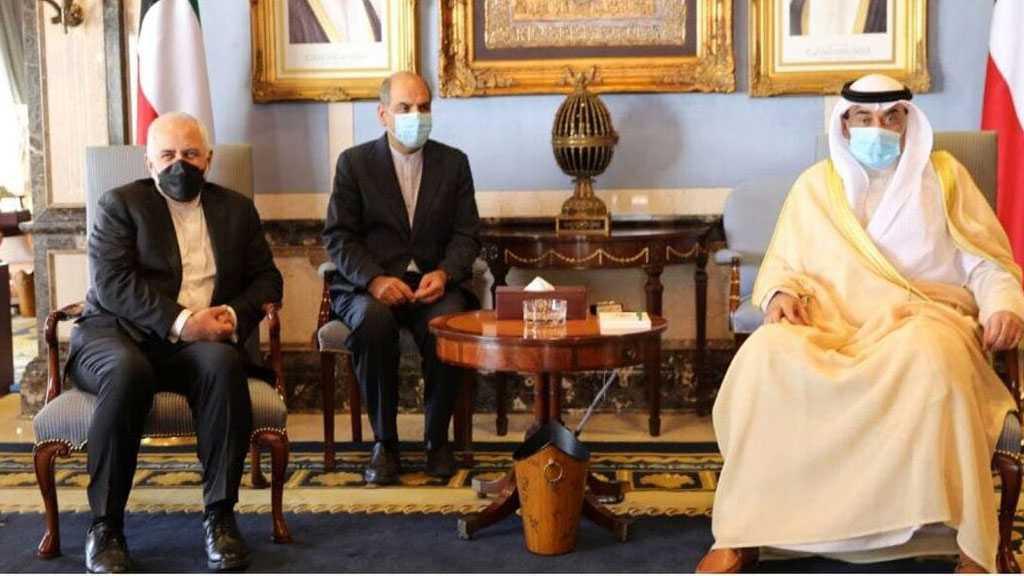 Zarif souligne la nécessité des efforts conjoints de l'Iran et du Koweït