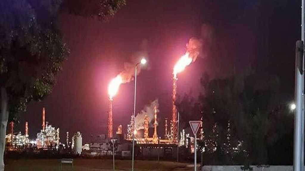 Un énorme incendie ravage deux raffineries israéliennes de «Haïfa»