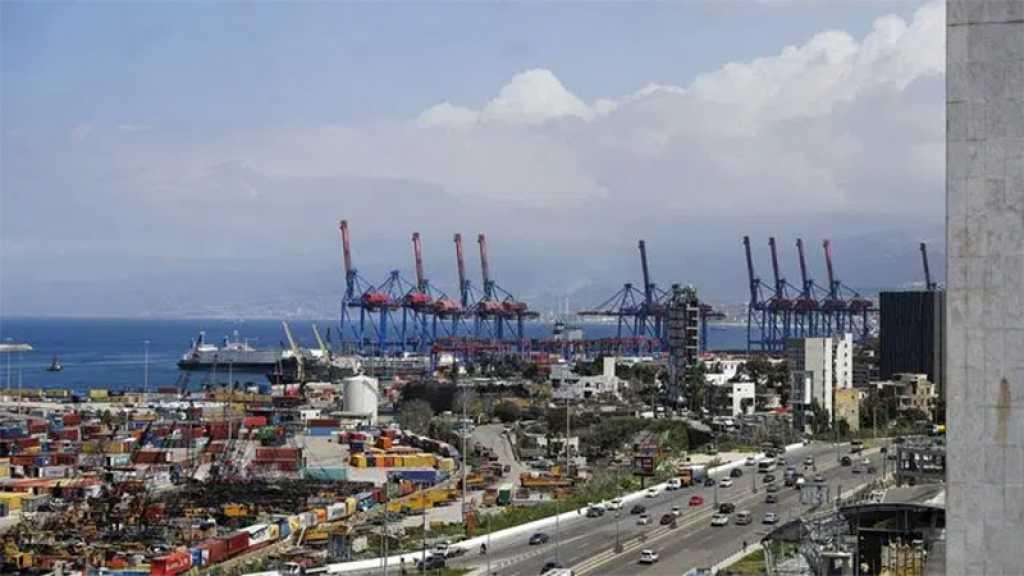 Liban: un bateau chargé de matières chimiques prêt à quitter le port de Beyrouth