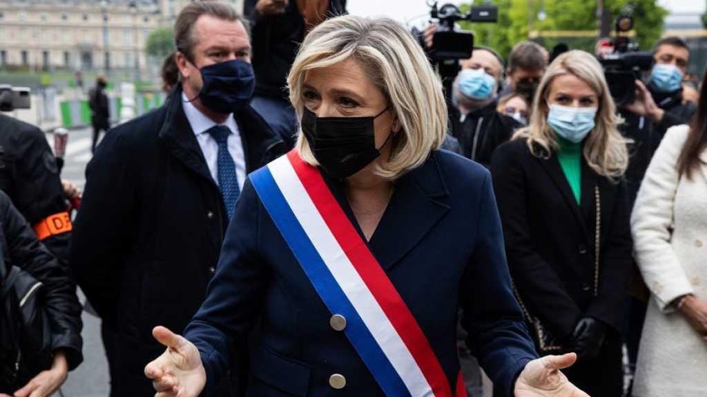France: Marine Le Pen prédit le chaos si Emmanuel Macron est réélu