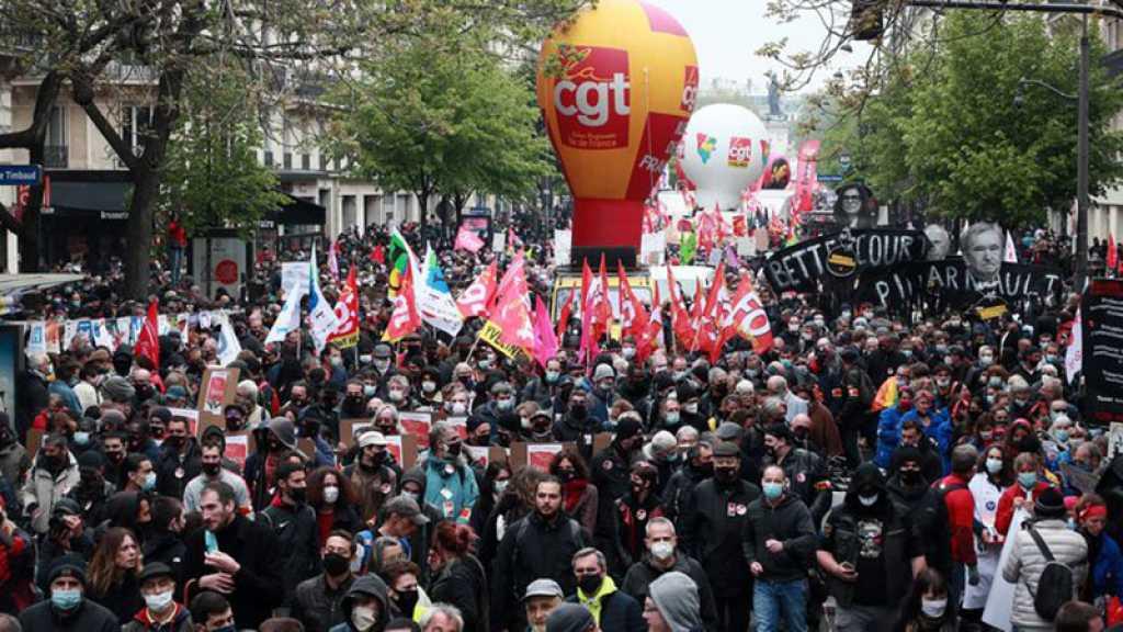 France: enquête ouverte sur les violences contre la CGT le 1er-Mai à Paris
