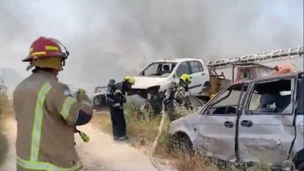 Un incendie se déclare dans un champ près de «l'aéroport Ben Gurion»