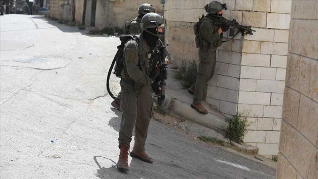 L'armée d'occupation israélienne assiège la ville d'Aqraba en Cisjordanie