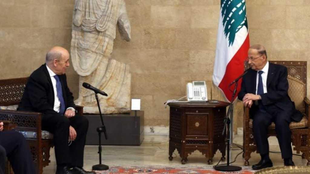 Le Drian lance un avertissement aux députés libanais à Beyrouth