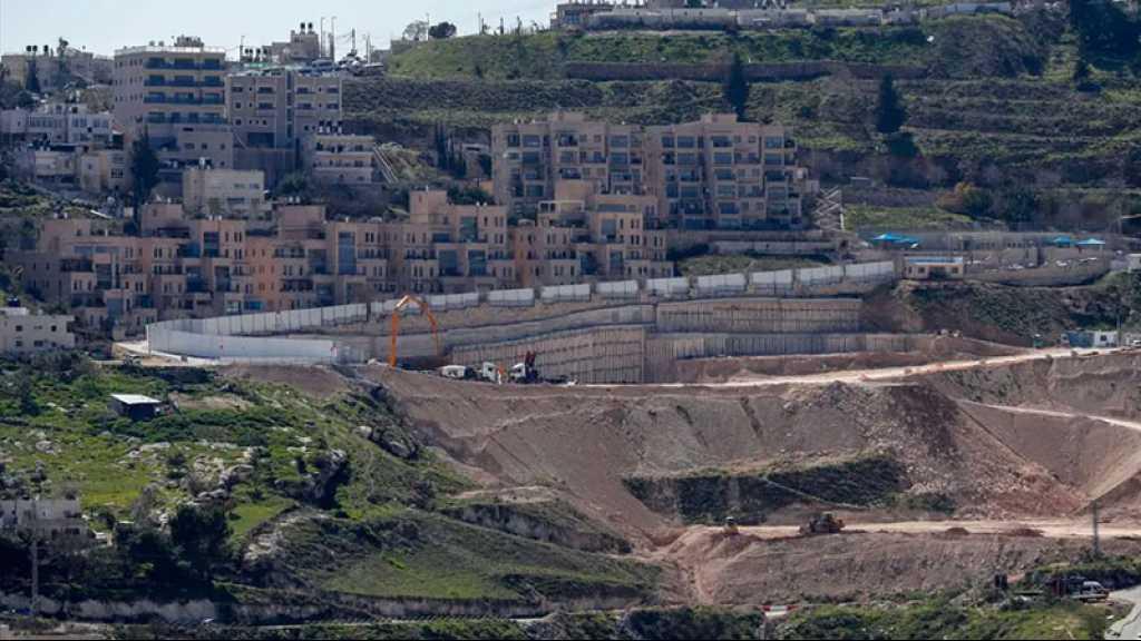 Les Européens pressent «Israël» de cesser d'accroître ses colonies