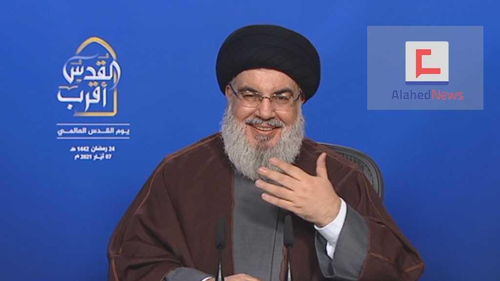 Sayed Nasrallah: L'axe de la résistance se rétablit de ses crises alors que l'ennemi sioniste est au bord de l'effondrement