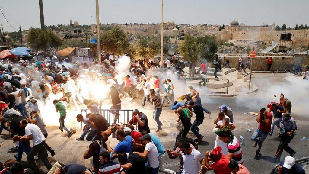 Al-Qods: Les forces de l'occupation prennent d'assaut la mosquée Al-Aqsa