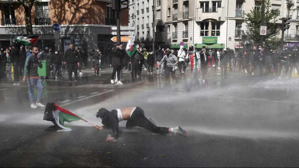Bravant l'interdiction, plus de 2 500 manifestants pro-palestiniens rassemblés à Paris