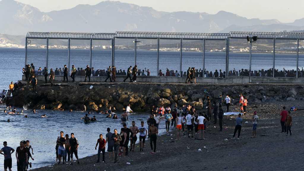 Maroc: des milliers de migrants ont afflué vers l'enclave espagnole de Ceuta