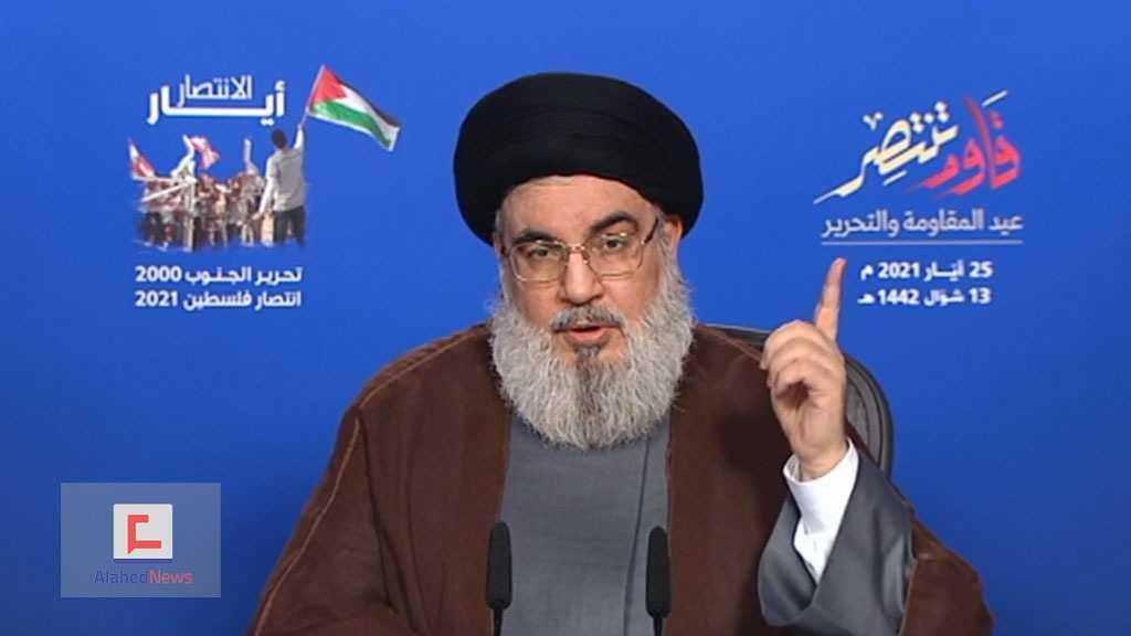Sayed Nasrallah: «La riposte de Gaza est historique, notre prochaine équation sera : al-Qods contre la guerre régionale»
