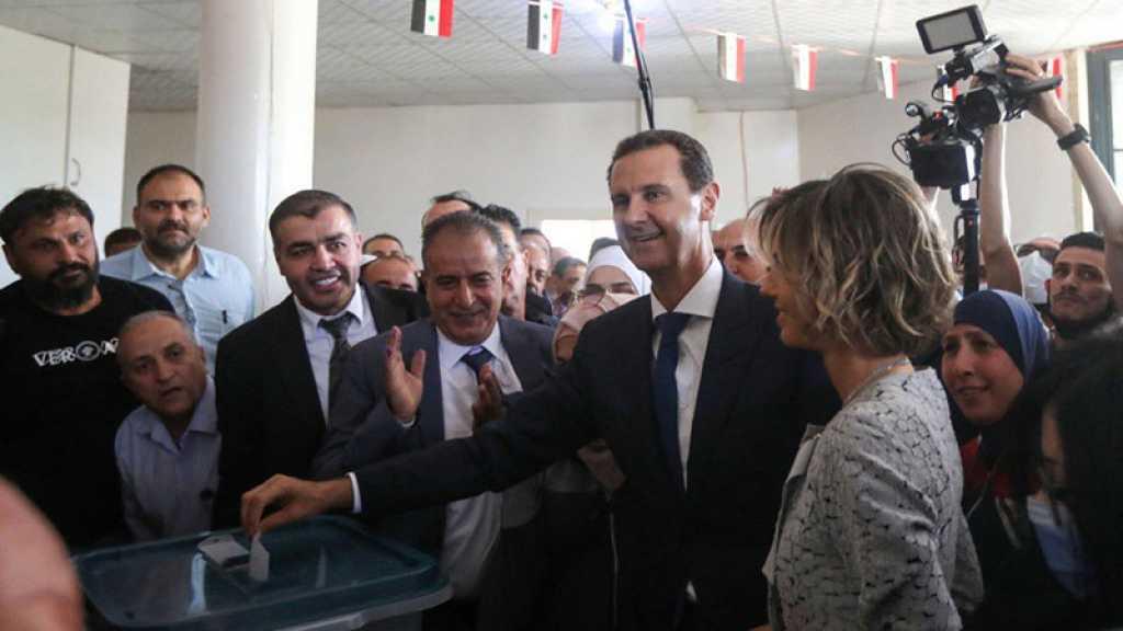 Les critiques occidentales sur l'élection «ne valent rien», affirme Assad