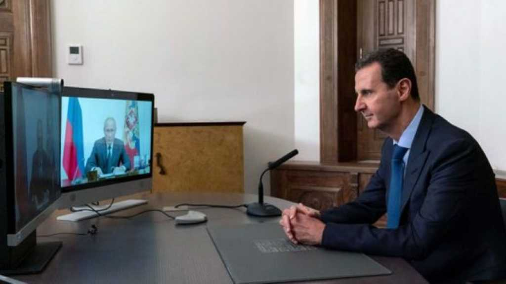 Syrie: Poutine dit à Assad que sa réélection confirme son «autorité politique»