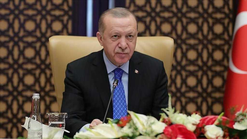 Les Etats-Unis risquent de «perdre un ami», prévient Erdogan avant de rencontrer Biden