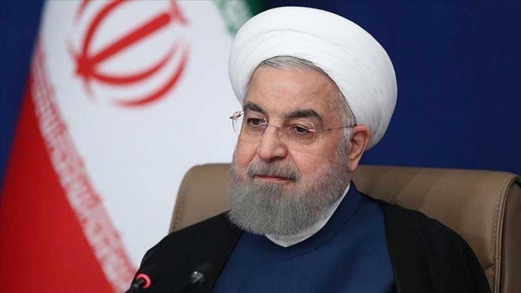 Négociations: les principaux problèmes avec les Etats-Unis sont réglés (Rohani)