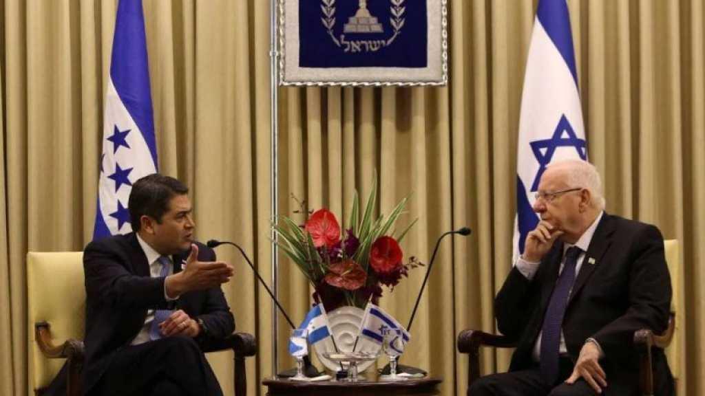 Le Honduras ouvre une ambassade à al-Qods occupée fin juin
