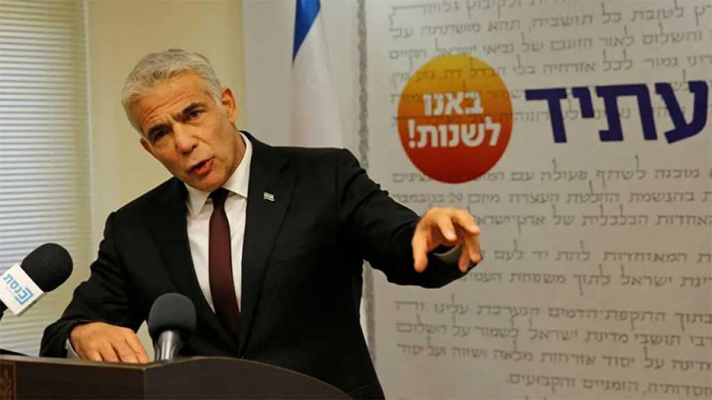 Le président de la «Knesset» va annoncer lundi que Y. Lapid a réussi à former un gouvernement