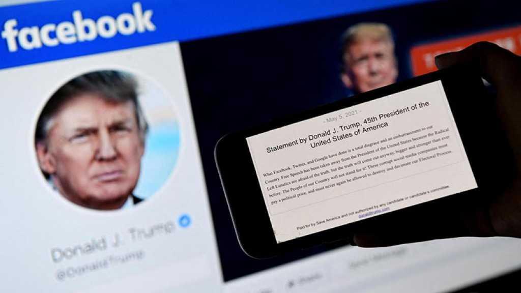 Facebook suspend Donald Trump pour deux ans
