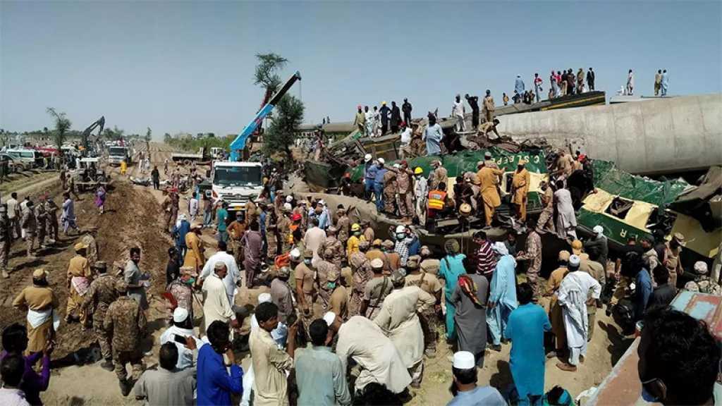 Pakistan: au moins 34 morts dans un accident ferroviaire