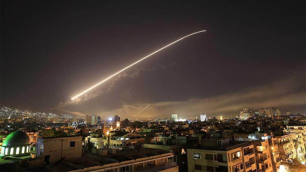 Les défenses antiaériennes syriennes interceptent une agression israélienne au-dessus de Damas