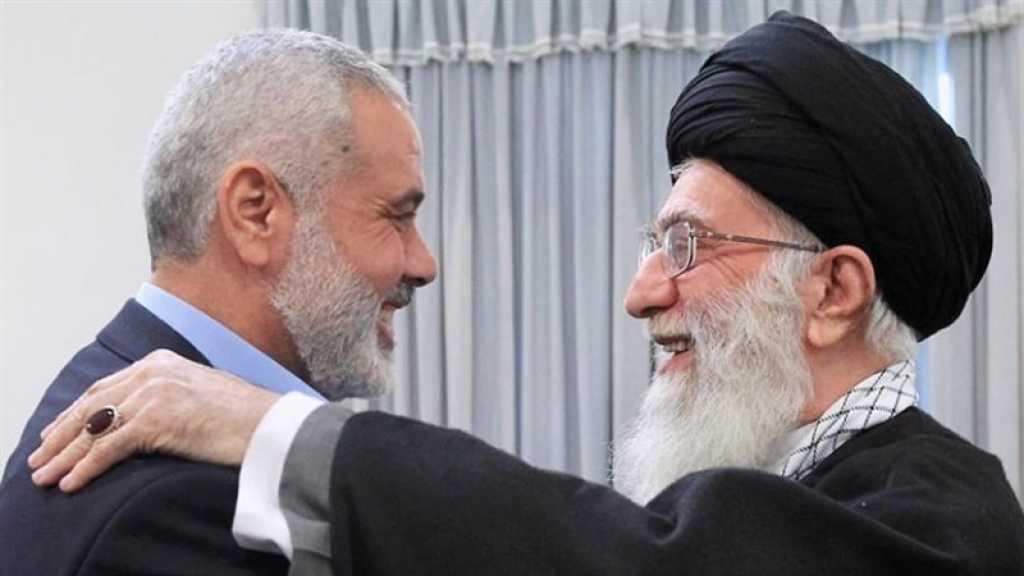Haniyeh rencontrera sayed Khamenei et Nasrallah lors d'une série de visites en Iran et au Liban