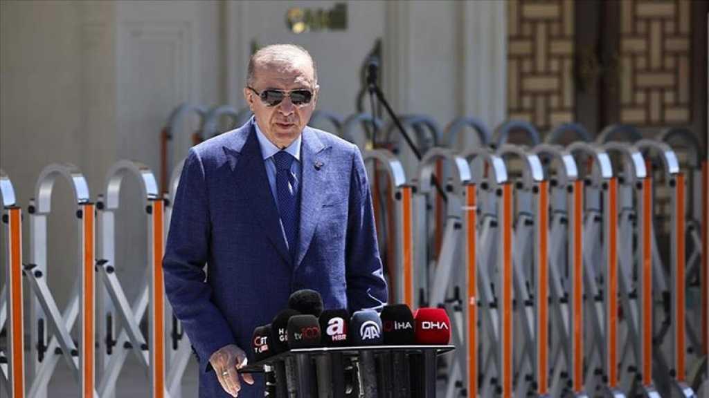 Erdogan: «Nous discuterons des relations entre la Turquie et la France» à Bruxelles