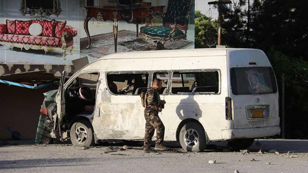 Deux explosions contre des minibus à Kaboul