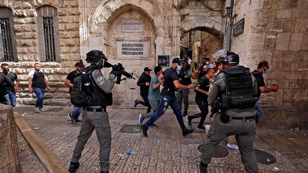 Heurts à l'Est d'al-Qods: 10 Palestiniens arrêtés par la police d'occupation israélienne