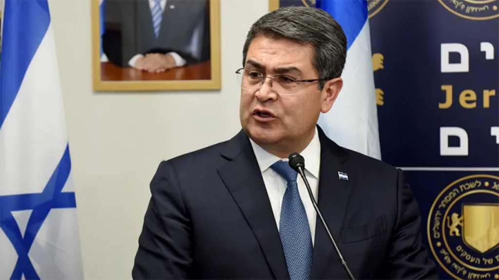 Le président du Honduras en «Israël» pour l'inauguration de l'ambassade de son pays à al-Qods occupée