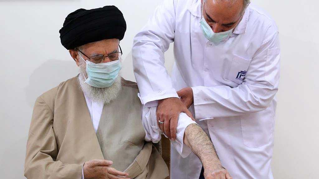 Sayed Khamenei a reçu la première dose du vaccin anti-Covid de fabrication iranienne