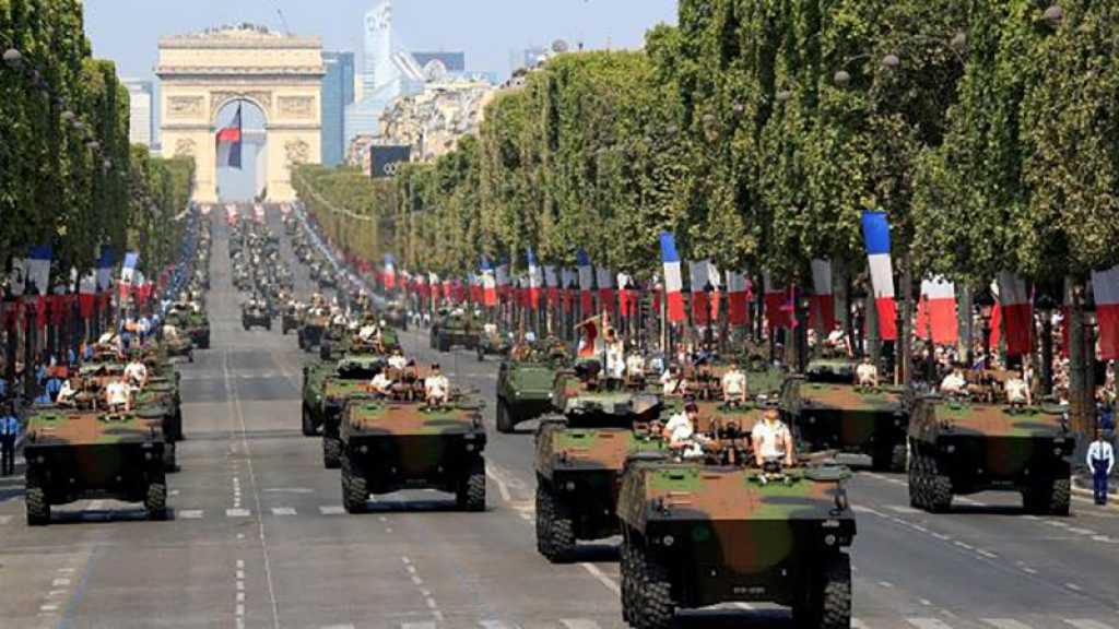 France: défilé militaire à Paris pour la fête nationale, malgré le variant