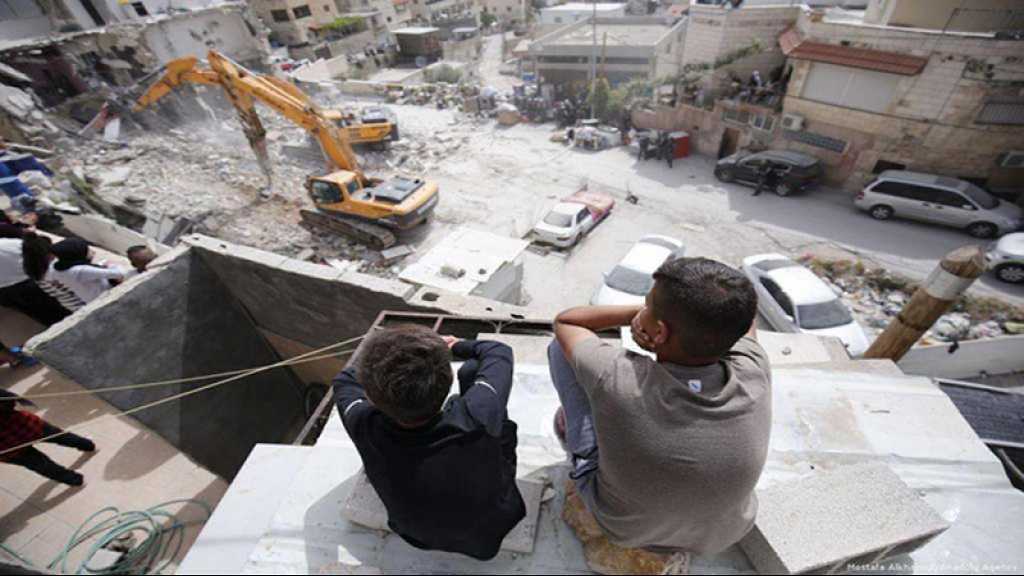 «Israël» a démoli 62 bâtiments à al-Qods occupée depuis le début de l'année