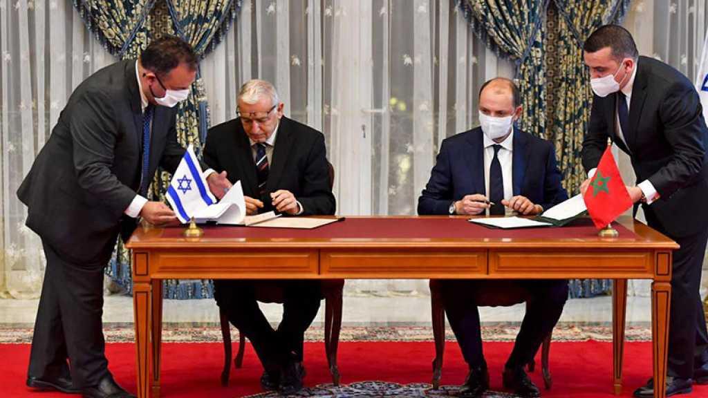 Le Maroc et «Israël» signent un accord de coopération dans le domaine de la cyberdéfense