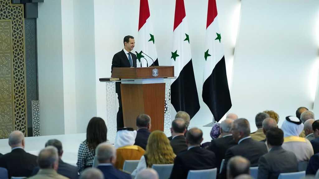 Assad prête serment: la cause palestinienne est la plus proche à nous parmi les questions régionales