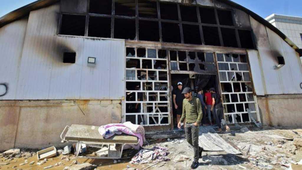 Irak: après l'incendie de Nassiriya, démissions en cascade de directeurs d'hôpitaux